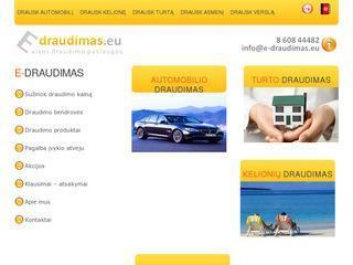 Draudimo brokeris e-draudimas.eu – visos draudimo paslaugos mažiausia kaina.