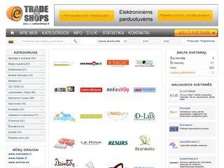 E-Trade and Shops