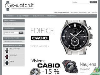 e-watch.lt elektroninė laikrodžių parduotuvė