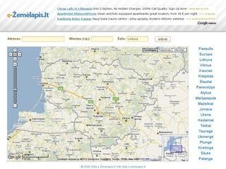 e-Žemėlapis.lt