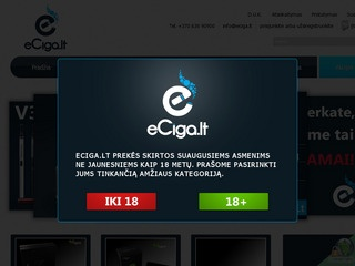 Elektroninės cigaretės – eCiga.lt