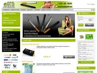 Elektroninių cigarečių Inawera skysčiai