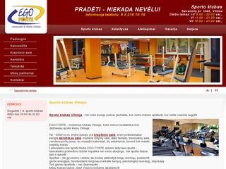 Sporto klubai Vilniuje