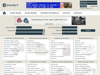 Eįmonės.lt – Įmonių katalogas | Įmonės | Įmonių informacija | Įmonių paieška