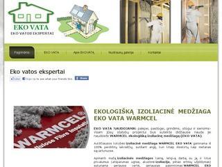 Ekovata – profesionalūs apšiltinimo darbai