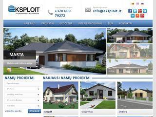 UAB Eksploit   Projektavimas ir Architektūra