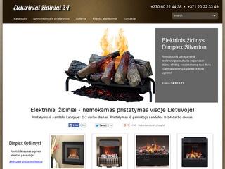 Elektriniai židiniai – katalogas