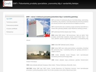 emfi.lt – prekyba poliuretaniniais produktais