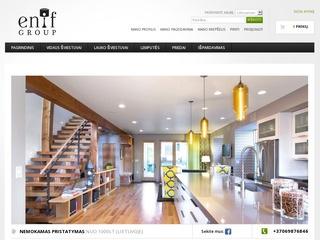 Enif.lt šviestuvų internetinė parduotuvė