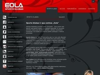 Eola, SPA ir sporto klubas