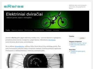 eRatas – elektriniai ratai visoms transporto priemonėms