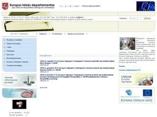 Europos teises departamentas prie LRV