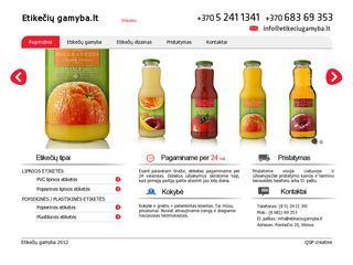 Etiketės – Etikečių gamyba
