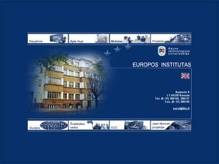 Europos institutas