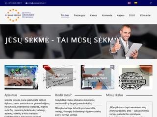 EUROVERTIMAI vertimų biuras