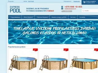 ExpressPool – Patikimas baseinas per 2 dienas!