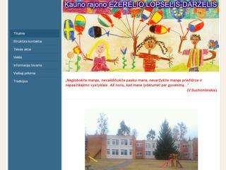 Kauno rajono Ežerėlio lopšelis-darželis