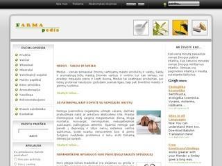 www.farmapedia.lt – Vaistininkas internete