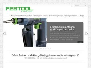 Festool įrankiai Kaune