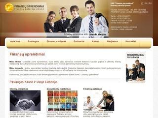Finansų sprendimai – Finansų patarėjo įmonė