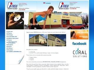 Fitnesas, sporto centras