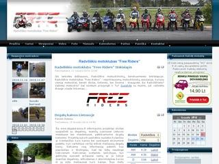 Free Riders – Radviliškio motoklubas