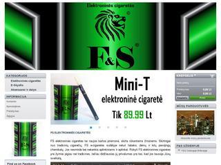 F&S Elektroninės cigaretės