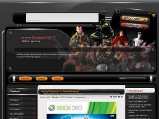 GamesUnit.LT – žaidimų portalas