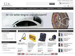 Auto prekės, įrankiai, technika Gera-kaina.lt