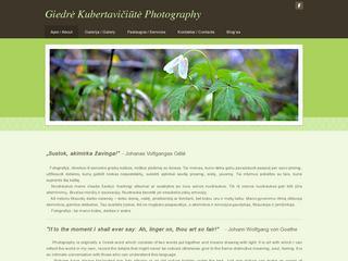 Giedrė Kubertavičiūtė – fotografija