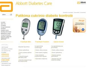 Abovita. Prekyba gliukomačiais Lietuvoje.