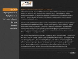 """Kultūros ir meno projektų asociacija """"G&T Promotion"""""""