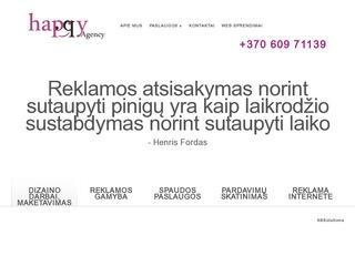 Reklamos paslaugos | Happy Agency