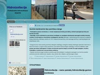 Hidroizoliacija.com – statinių hidroizoliacijos ekspertai