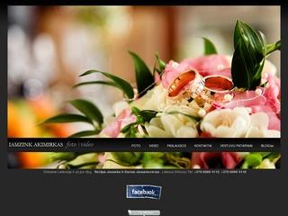 Vestuvių filmavimas. Video operatoriaus paslaugos. www.iamzink.lt