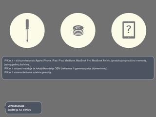 IFIXAS.lt – profesionali Apple Iphone, Ipad, Mac priežiūra ir remontas