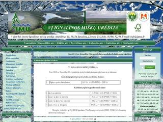 VĮ Ignalinos miškų urėdija