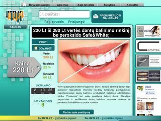 Odontologijos paslaugų nuolaidų portalas
