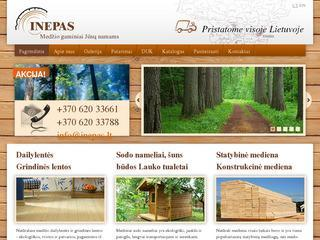 Statybinė mediena, dailylentės, grindinės lentos, sodo nameliai