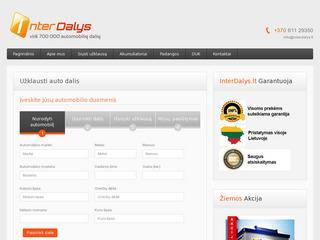 InterDalys – Auto dalys internetu