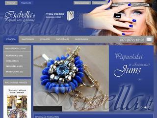 www.Isabella.lt – papuošalai, auskarai,  seksualūs naktinukai, seksualūs chalatukai