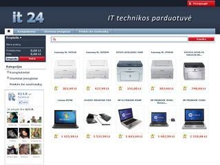 Kompiuterinės technikos parduotuvė