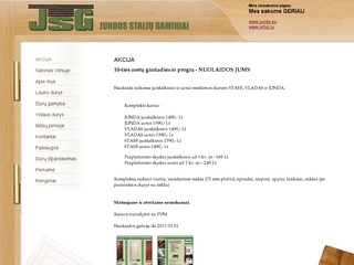 Jundos stalių gaminiai, UAB