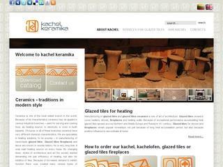 Kachel keramika, kokliu gamyba