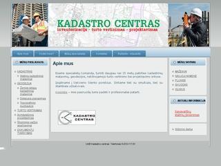 KADASTRO CENTRAS, UAB