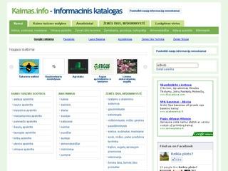 Kaimas, kaimo informacinis katalogas
