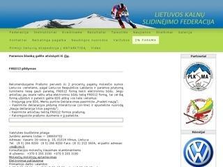 Lietuvos kalnų slidinėjimo federacija