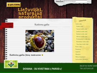 Lietuviški, natūralūs produktai