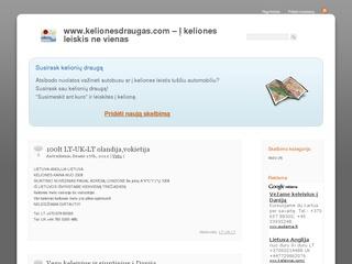 www.kelionesdraugas.com – Į keliones leiskis ne vienas!