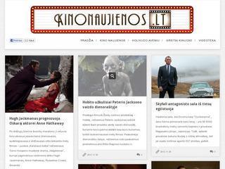 Kino naujienos